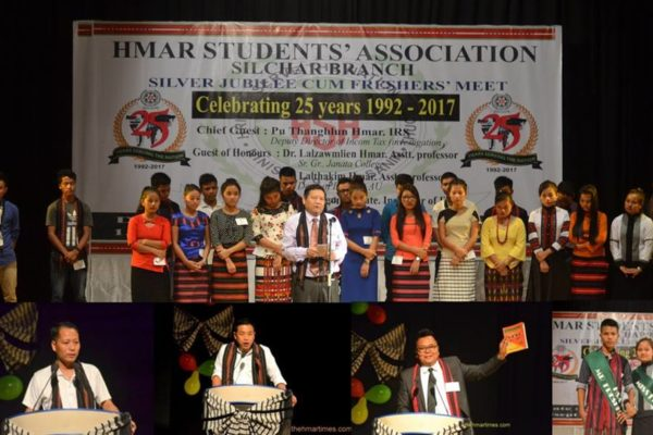 HSA Silchar Silver Jubilee cum Fresher's Meet ropui taka hmang
