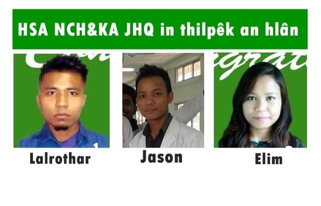NCH & KA JHQ in Assam a MBBS inchuklai mêk pathum hai kuoma thilpêk an hlân