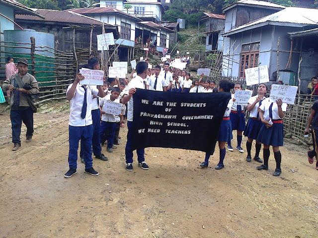 Parvachawm Govt. High School Tiemchin um lova khar