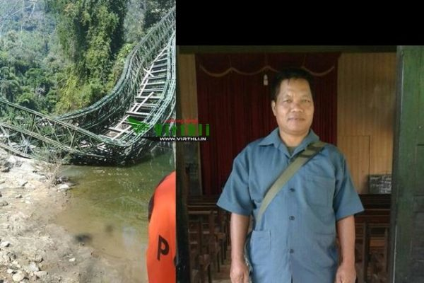 Hmar students demand reconstruction of bridge